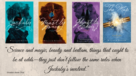 """Science and magic, beauty and bedlam, things that ought to be at odds—they just don't follow the same rules when Jackaby's involved."""
