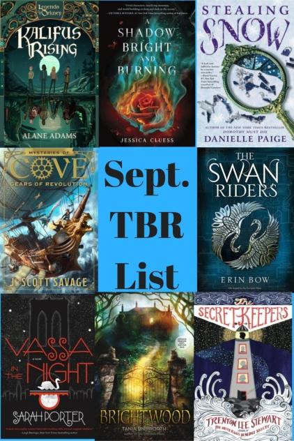 Sept TBRList