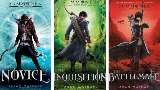 Summoner Series Book Covers