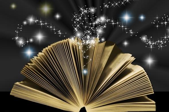 Fairy Tales Star Mystical Magic Book Spiritual