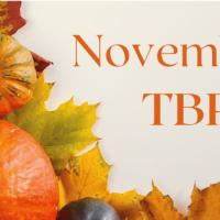 November 2020 TBR